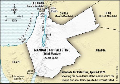 Israels legal borders